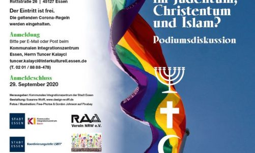 Homosexualität – (k)ein Thema im Judentum, Islam und Christentum