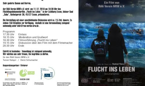 Dokumentarfilm Flucht ins Leben