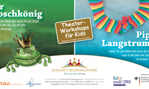 Theater-Workshops für Kids