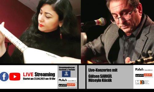 Live Konzertes mit Gülşen SARIGIL und Hüseyin KÜÇÜK